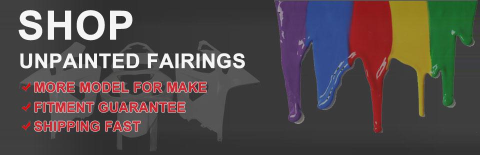 Unpainted Fairings